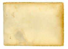 老纸张 免版税库存图片