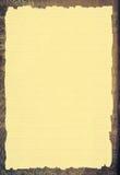 老纸模板 库存例证