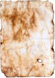 老纸羊皮纸 免版税图库摄影