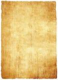 老纸莎草纸张 免版税库存图片
