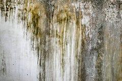老织地不很细破裂的墙壁 库存照片