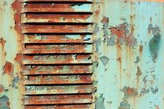 老织地不很细背景的难看的东西生锈的油漆表面 免版税库存照片