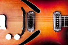老经典吉他 免版税库存图片