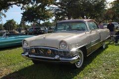 老经典美国人帕卡德汽车 免版税库存照片