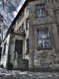 老结构lvov 免版税库存照片