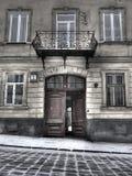 老结构lvov 免版税图库摄影