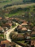 老罗马尼亚村庄 库存图片