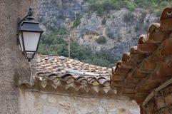 老罗马屋顶 库存照片