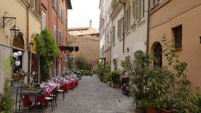 老罗马,意大利街道  库存图片