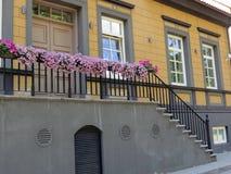 老美丽的房子 免版税库存照片