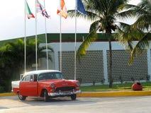 老美国汽车在古巴 库存图片