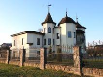 老美好的家,拉脱维亚 免版税图库摄影