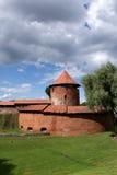 老考纳斯城堡 免版税库存照片