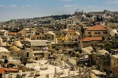 老耶路撒冷市视图 库存照片