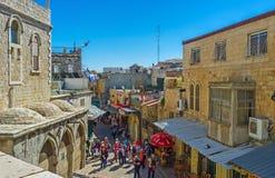 老耶路撒冷 免版税库存图片