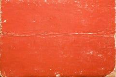 老肮脏的纹理书套 库存照片