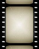 老胶卷画面电影 库存照片