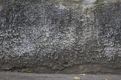 老脏的纹理,灰色混凝土墙 免版税库存图片