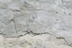 老脏的纹理,灰色混凝土墙 免版税库存照片
