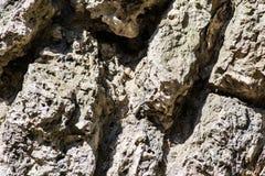 老腐朽的岩石结构 库存照片
