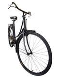 老自行车夫人 库存图片