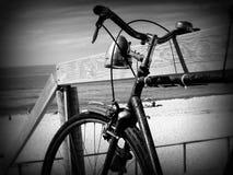 老自行车 免版税库存图片