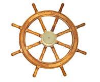 老船样式轮子 免版税库存照片