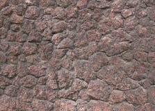 老花岗岩墙壁纹理  免版税库存照片