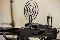 老苏维埃RPD (Ruchnoy Pulemyot Degtyaryova)机枪, lig 免版税库存照片