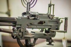 老苏维埃RPD (Ruchnoy Pulemyot Degtyaryova)机枪, lig 免版税库存图片