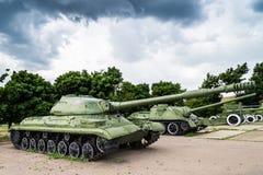 老苏联军用设备 免版税库存图片