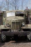 老苏联卡车 免版税图库摄影