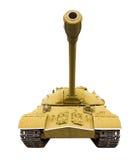 老苏联坦克 免版税库存图片