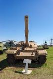 老苏联坦克T- 62 库存照片