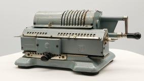 老苏联机械计算器加法器4k 股票录像