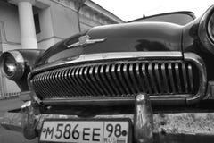 老苏联汽车伏尔加河 库存图片