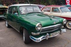 老苏联汽车Gaz-21 图库摄影