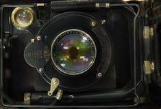 老苏联测距仪照相机 图库摄影
