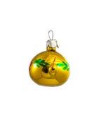 老苏联破旧的玻璃圣诞树玩具 免版税图库摄影