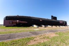 老苏联柴油潜水艇B-307 (探戈类) 免版税库存图片