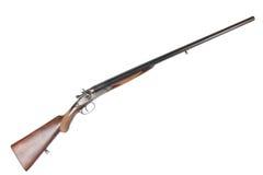老苏联12测量仪并行的双管的狩猎枪 图库摄影