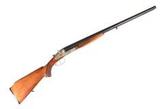 老苏联12测量仪并行的双管的狩猎枪 库存图片