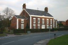 老英国全部房子 免版税库存照片