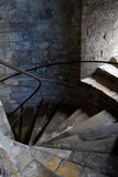 老英国楼梯 免版税库存照片