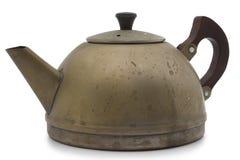 老茶壶 免版税库存照片