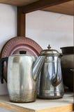 老茶壶 库存图片
