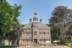 老荷兰城堡附录旅馆harderwijk 免版税图库摄影