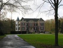 老荷兰语landhouse 免版税库存图片