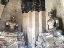 老菩萨雕象阿尤特拉利夫雷斯 库存照片