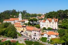 老葡萄牙sintra城镇 免版税库存图片